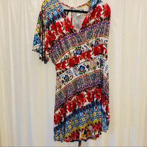 Desigual Women's Leyla Short Sleeve Dress, XXL